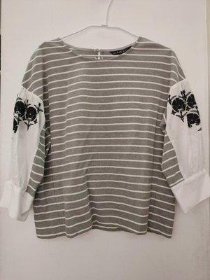 全新 Le Polka造型袖上衣 喜歡DITA/JOAN/abito IROO MOMA 0918