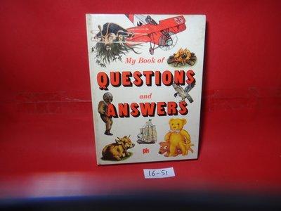 【愛悅二手書坊 16-51】My Big Book of Questions and Answers