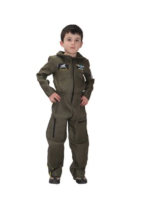 萬聖節服裝,萬聖節裝扮,空軍裝扮/兒童變裝服-帥氣空軍服
