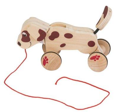 英國直送 德國製造 Playtive Junior 木製 拉拉狗 兒童 嬰兒 玩具 蒙特梭利 Montessori