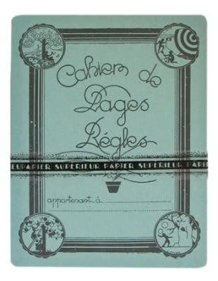 《散步生活雜貨-文具散步》日本進口Ruled Pages French Notebook 橫條頁 法式筆記本