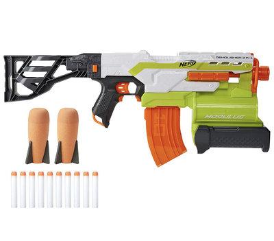 補貨到 橙(橘)機 NERF Modulus Demolisher 2-in-1 Motorized Blaster 榴彈砲