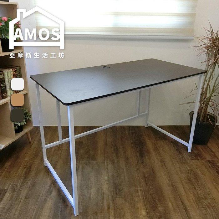 120公分大平面工作桌 電腦桌 書桌 台灣製 Amos【DCA015】