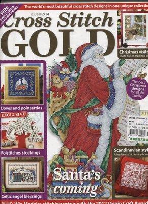 紅蘿蔔工作坊/美國刺繡手工藝書=Cross Stitch GOLD ISSUE88