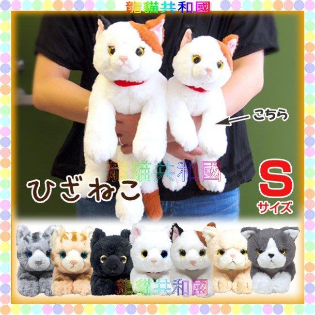 ※龍貓共和國※日本正版《SUNLEMON超療癒 仿真擬真小貓 喵星人 可愛寵物貓咪肉球 絨毛娃娃 玩偶S號36公分》禮物
