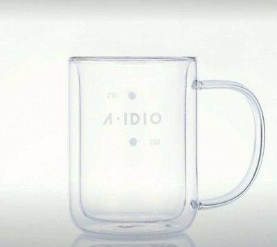 ADIDO 雙層耐熱玻璃杯 手沖玻璃下壺咖啡壺 分享壺 310ml