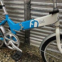 【台北二手腳踏車買賣】 近全新 捷安特 GIANT FD-806 20吋6段SHIMANO變速折疊車小折摺疊車