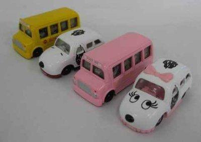 史奴比 SNOOPY 四輛多美小汽車組 已絕版 一次收藏  特賣會開跑