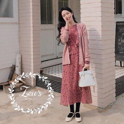 【ZEU'S】韓國春裝休閒甜美雪紡洋裝『 03219610 』【現+預】CA