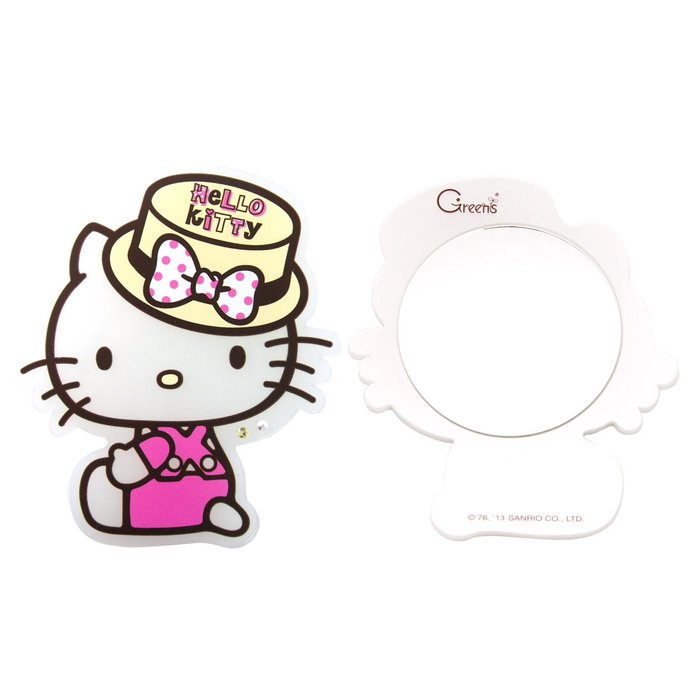 《Greens Design》復古摩登Hello Kitty隨身鏡/鏡子(SA0025)