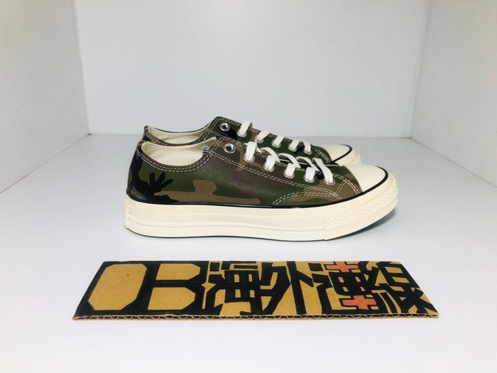 【OB海外連線】Carhartt WIP x CONVERSE Chuck 70 聯名 迷彩 綠 帆布鞋 美國 經典