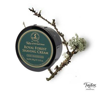 GOODFORIT /英國Taylor Shaving Cream Royal Forest(皇家樹林)刮鬍膏/150g