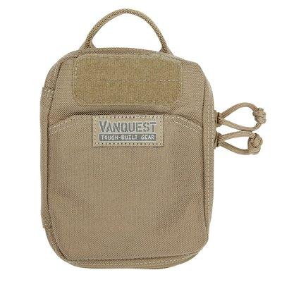VANQUEST戶外 休閒 登山 露營 防水 耐磨 個人隨身整理包PPM-HUGE(大)-卡其