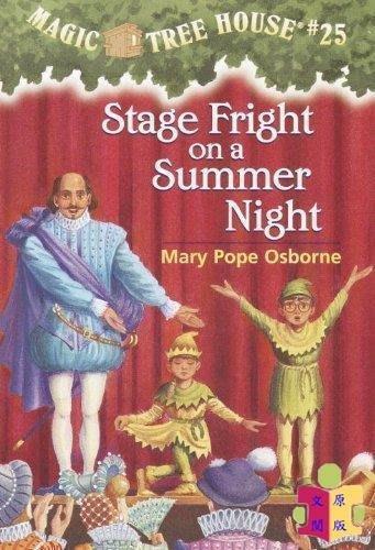 [文閲原版]神奇樹屋25仲夏夜 英文原版 Stage Fright on a Summer Night