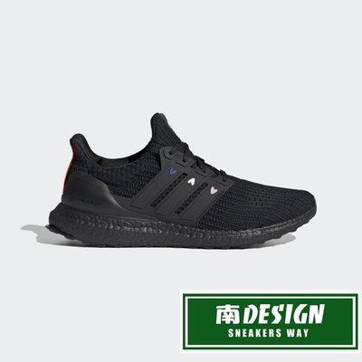 南◇2021 1月 ADIDAS ULTRABOOST 4.0 DNA 慢跑鞋 GZ9227 黑 三條線愛心 編織 跑鞋