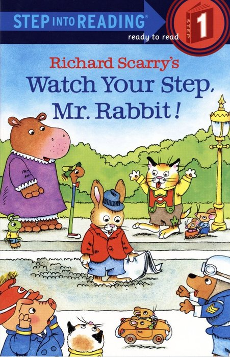 ~小貝比的家~RICHARD SCARRY #x27 S WATCH YOUR STEP