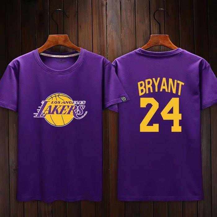 💖黑曼巴Kobe Bryant科比短袖棉T恤上衣💖NBA湖人隊Adidas愛迪達運動籃球衣服T-shirt男女991