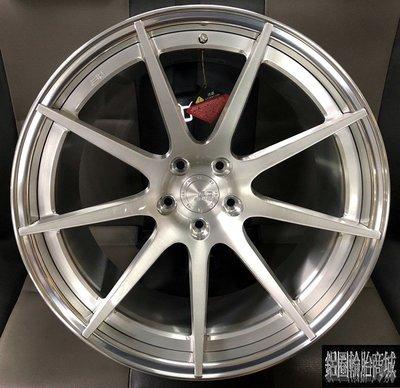 全新鋁圈 20吋 BC HB29 雙片鍛造 客製化 銀刷絲 各車種規格顏色訂製 另有 18吋 19吋 21吋