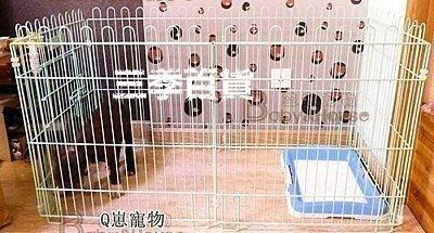 三季寵物柵欄狗籠子組合式 泰迪小狗圍欄 加粗鐵籬笆小型犬狗圍欄❖770