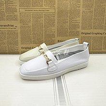 Empress丶秋季新款女鞋方頭平底休閒板鞋學生街拍正韓套腳單鞋