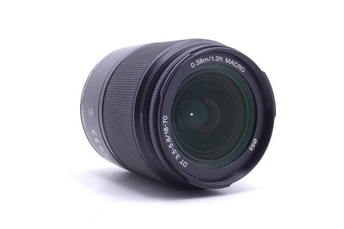 【台中青蘋果】Sony DT 18-70mm f3.5-5.6 MACRO 二手 A-Mount 鏡頭 #15400
