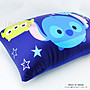 【UNIPRO】迪士尼 TSUM TSUM 滋姆滋姆 史迪奇 三眼怪 涼感 繽紛方枕 靠枕 泡沫粒子枕芯 正版授權