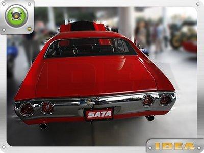 泰山美研社 D4569 1970 Chevrolet Chevelle SS 454 車款 後保桿 客製改裝