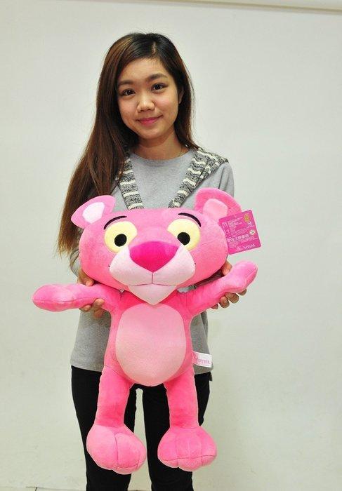 頑皮豹 頑皮豹娃娃 50公分 粉紅逹浪頑皮豹 玩偶 粉紅豹 生日禮物 可刷卡 兒童禮物