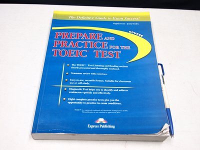 【考試院二手書】《PREPARE AND PRACTICE FOR THE TOEIC TEST》七成新(B11Z11)