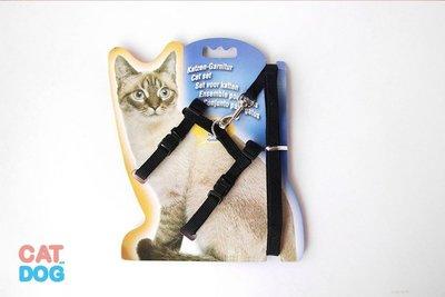 【Catandog.tw嚕嚕呼嚕】(黑)多色寵物貓咪安心遛躂繩型男最愛純黑