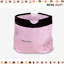【嚴選SHOP】粉色 16~18cm 6吋乳酪盒手提袋 拉拉袋 圓盒袋 食品袋 蛋糕袋 包裝袋 西點袋【D069】