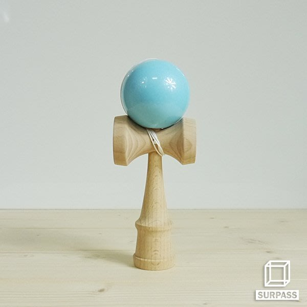 『Surpass』木質劍玉劍球 Pearl 珠光系列 湖水藍