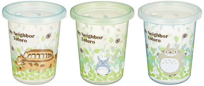 【東京速購】日本製 skater 龍貓 豆豆龍 耐熱 蓋子水杯 吸管水杯 兒童水杯 3入