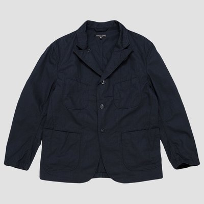 紐約品牌 Engineered Garments Bedford Jacket 高支數深藍色三釦休閒西裝外套 美國製