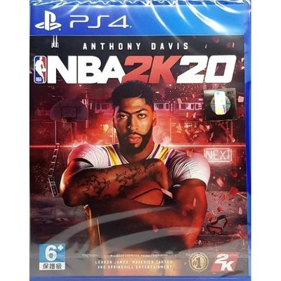【全新】PS4遊戲片 2K20中文版 NBA 2k20 NBA2k20美國職業籃球賽2020 NBA2k19參考2K21