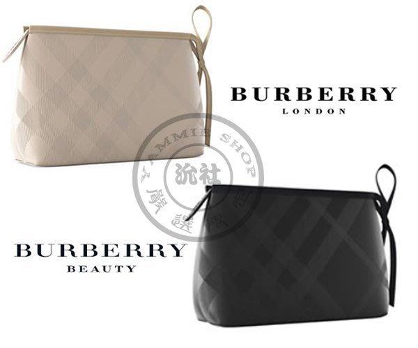 比上次的更讚 專櫃禮BURBERRY巴寶莉 經典紋理 多機能化妝包 手拿包 手機包 不真你找我 小款系列(BBS27)