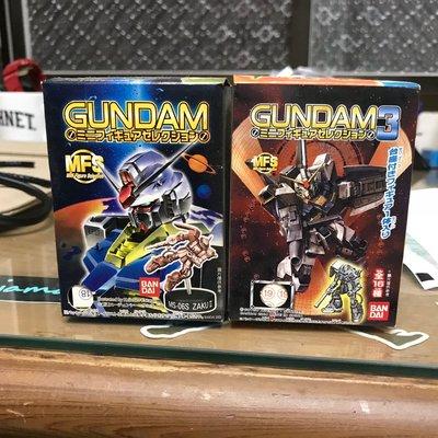 GUNDAM MFS 3 bandai 寶特瓶蓋模型 鋼彈 乖乖盒玩食玩 隱藏版