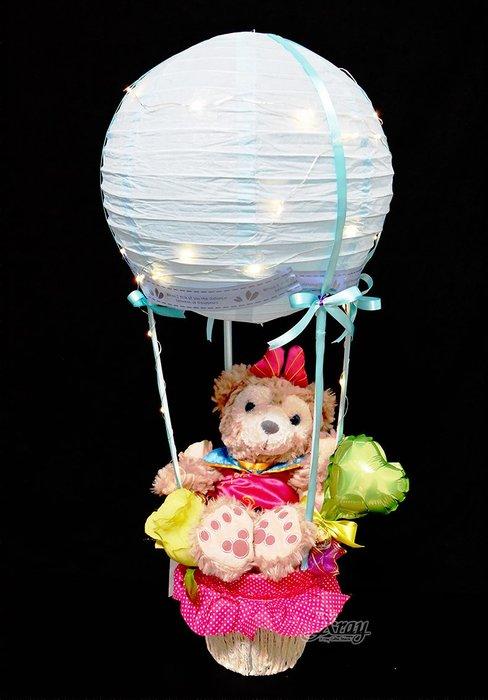 X射線【Y533280】ShellieMay雪莉梅娃娃幸福熱氣球,Duffy/捧花/情人節禮物/金莎花束/熱氣球/告白