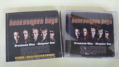 【鳳姐嚴選二手唱片】 Backstreet Boys  新好男孩 / GREATEST HITS CHAPTER ONE