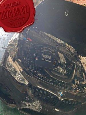 《弘寶汽車材料》BMW/寶馬 F80 M3|零件車/材料車/報廢車|收報廢車/事故車/權利 車 歡迎洽詢