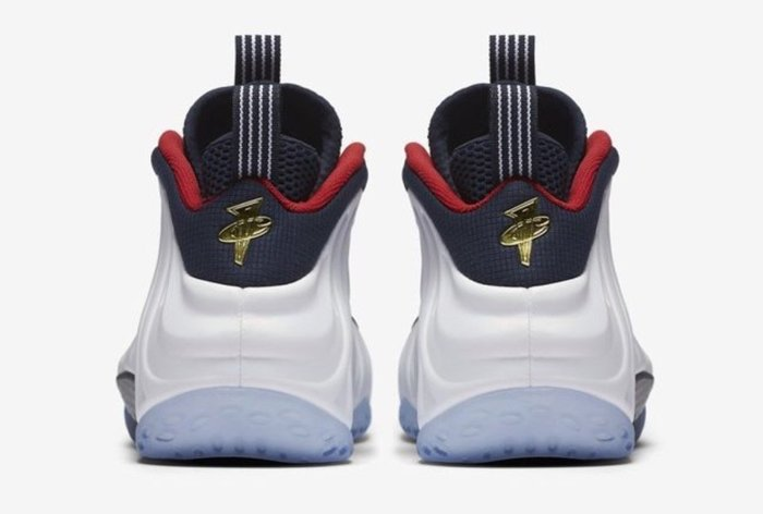 10全新正品標 Nike Air Foamposite One Olympic 奧運 太空鞋