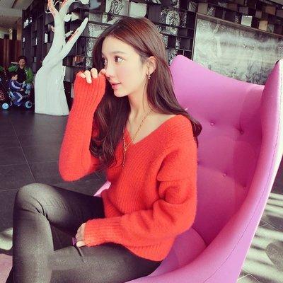 =EZZ=韓國首爾 時尚精品 東大門同步 茵蔓 8128 正韓 修身顯瘦多色可選 毛衣 長T