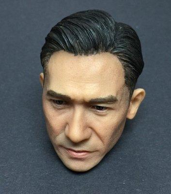 100%全新 亞洲巨星 頭雕系列 ( 梁朝偉 一代宗師 葉問 王家衛 The Grandmaster Tony Leung Wong Kar Wai)