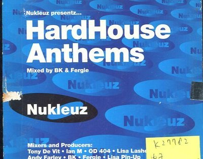 *真音樂* HARD HOUSE ANTHEMS 2CD 二手 K27782