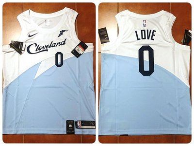 Kevin Love Nike 騎士隊獎勵球衣含贊助標 earned editon