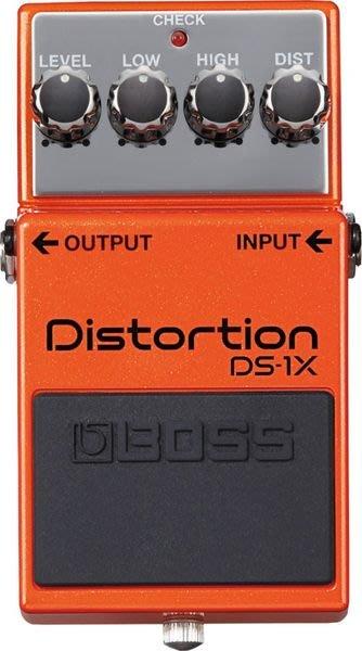 【六絃樂器】全新 Boss DS-1X Distortion 高階破音效果器 單顆特別版 / 現貨特價