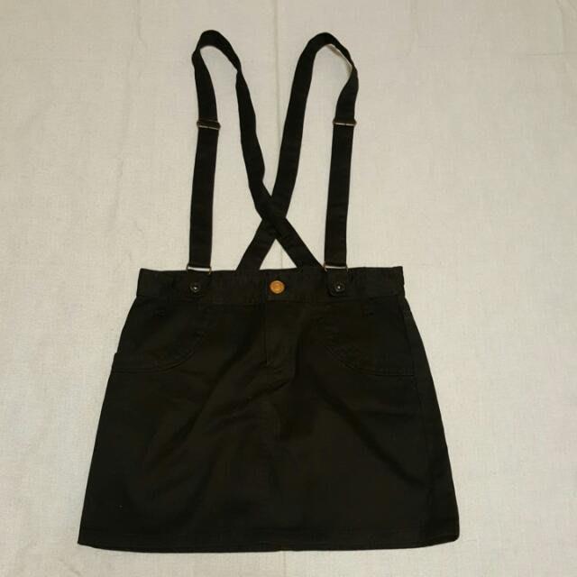 LOWRYS FARM女黑色吊帶裙
