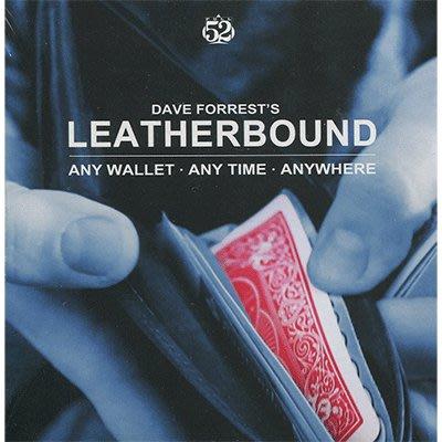 【天天魔法】【S1231】正宗原廠~終極牌入皮夾~Leatherbound by Dave Forrest