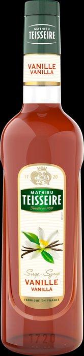 Teisseire 糖漿果露-香草風味 Vanilla  法國頂級天然糖漿 1000ml-【良鎂咖啡精品館】