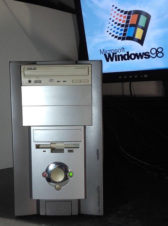 【窮人電腦】跑Win98系統!自組技嘉AMD工業或遊戲主機出清!雙北桃園可親送!外縣可寄!